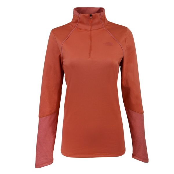 c8231cc9a The North Face Women's 100 Cinder 1/4 Zip Pullover Only $38 Shipped ...