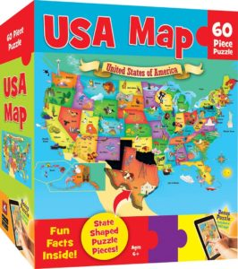 USA Map – 60 Piece Kids Puzzle Only $4.00! Was $10!