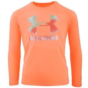 Under Armour Girls' UA Big Logo Long Sleeve T-Shirt Only $13 Shipped!