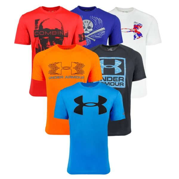 Under armour men 39 s tech t shirt only 14 shipped become for Under armour shirts at walmart