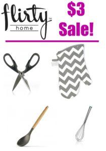 Flirty Home $3 Sale! Great Gift Ideas!