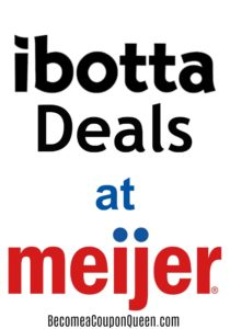 Ibotta Deals at Meijer!
