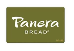 $15 Panera Gift Card ONLY $8.29!