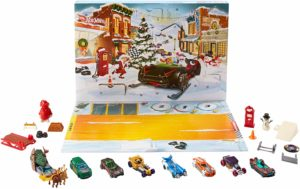 2019 Hot Wheels Advent Calendar Vehicle Only $19.99!