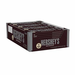 HERSHEY'S Chocolate Candy Bar, 36 count as low as $16.98 Shipped! ($0.47 each)