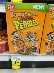 Meijer: Post Peanut Butter & Cocoa Pebbles Cereal Only $0.88!