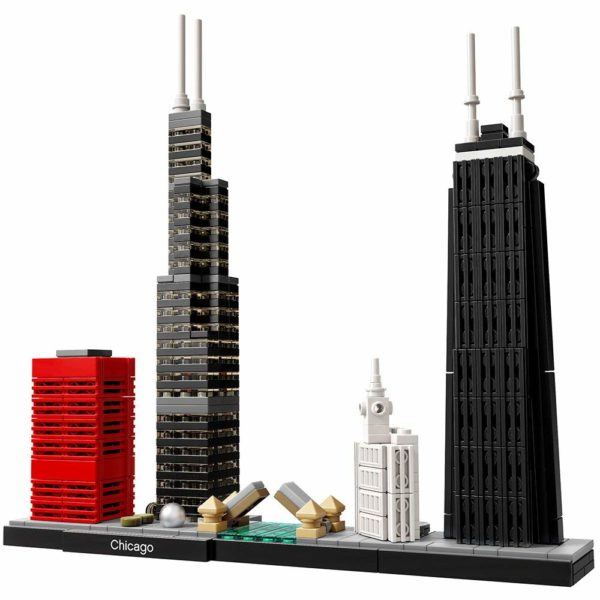Lego architecture chicago skyline building blocks set for Cost of building blocks in jamaica 2017