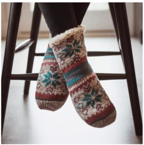 MUK LUKS Women's Cabin Socks ONLY $6.99 Shipped! Gift Idea!