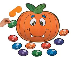 Pin the Nose on the Pumpkin Game Only $3.95!