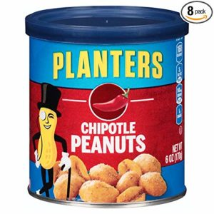 Planters Flavored Peanuts 6oz (Pack of 8) as low as $7.31 Shipped! ($0.91/can)