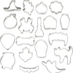Set of 18 Wilton Halloween Cookie Cutters Only $8.98!