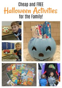 Cheap and FREE Halloween Activities for the Family!