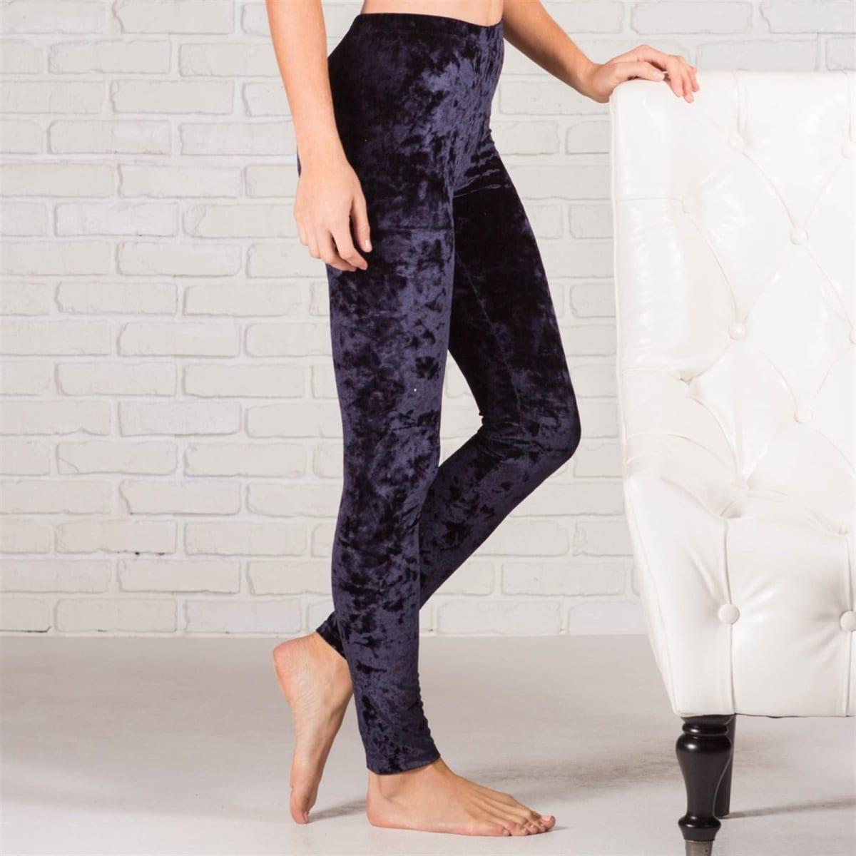 Velvet Leggings   4 Colors – Only $9.99 Shipped!