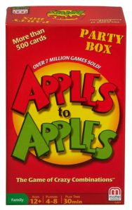 Mattel Games Apples to Apples Party Box – $5.99 – Today ONLY!