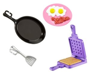 Barbie Breakfast Accessory Pack Only $4.90!