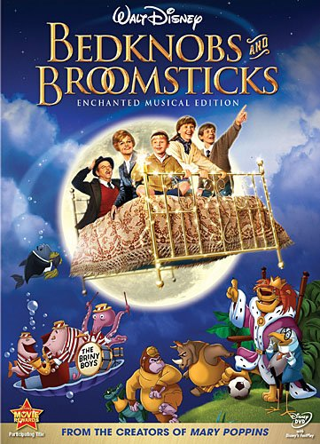 Bedknobs And Broomsticks DVD Only $4.99!
