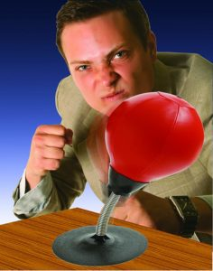 Desktop Punching Ball Only $19.95! Perfect for Stress Relief!