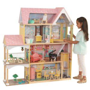 KidKraft Lola Mansion 4′ Dollhouse – $99.98!! Was $149.98!