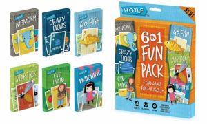 Kid's 6 in 1 Card Game Fun Pack Only $4.99!