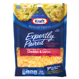 Walmart: Kraft Expertly Paired Shredded Cheese Only $1.63!