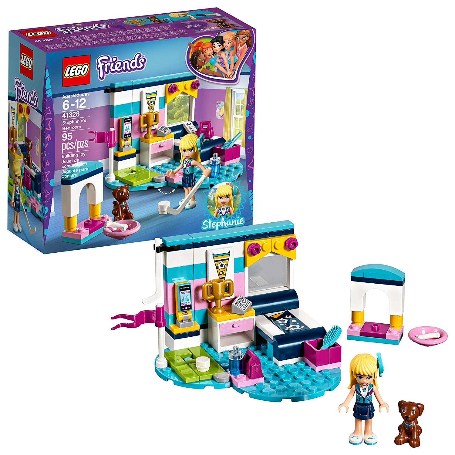 LEGO Friends Stephanie's Bedroom Building Set Only $6.99 ...
