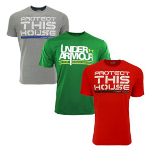Under Armour Men's Heatgear Protect This House T-Shirt Only $13.99 Shipped!