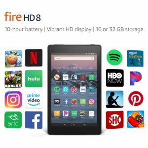 All-New Fire HD 8 Tablet w/Special Offers – $49.99