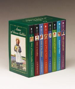 Anne of Green Gables, Complete 8-Book Box Set Only $18.22!