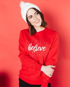 Believe Graphic Sweatshirt Only $14.97 Shipped!