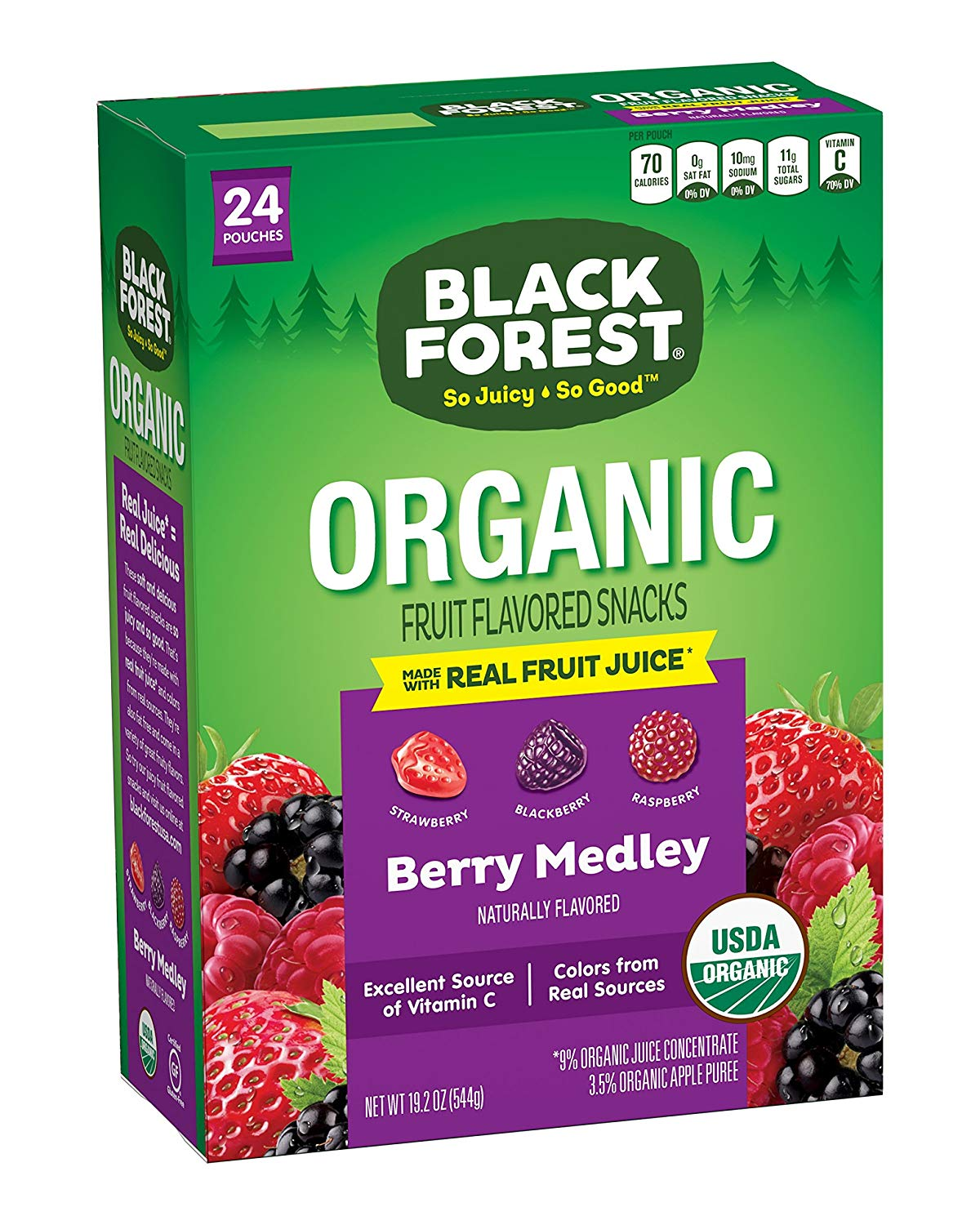 Black Forest Organic Fruit Snacks 24ct as low as $4.54 Shipped!
