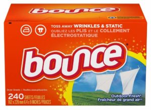 *HOT* Bounce Fabric Softener and Dryer Sheets, 240 Count as low as $2.96 Shipped!