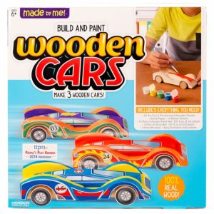 Build & Paint Your Own Wooden Cars Only $8.12!
