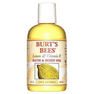 Burt's Bees 100% Natural Lemon and Vitamin E Body and Bath Oil as low as $1.90 Shipped!