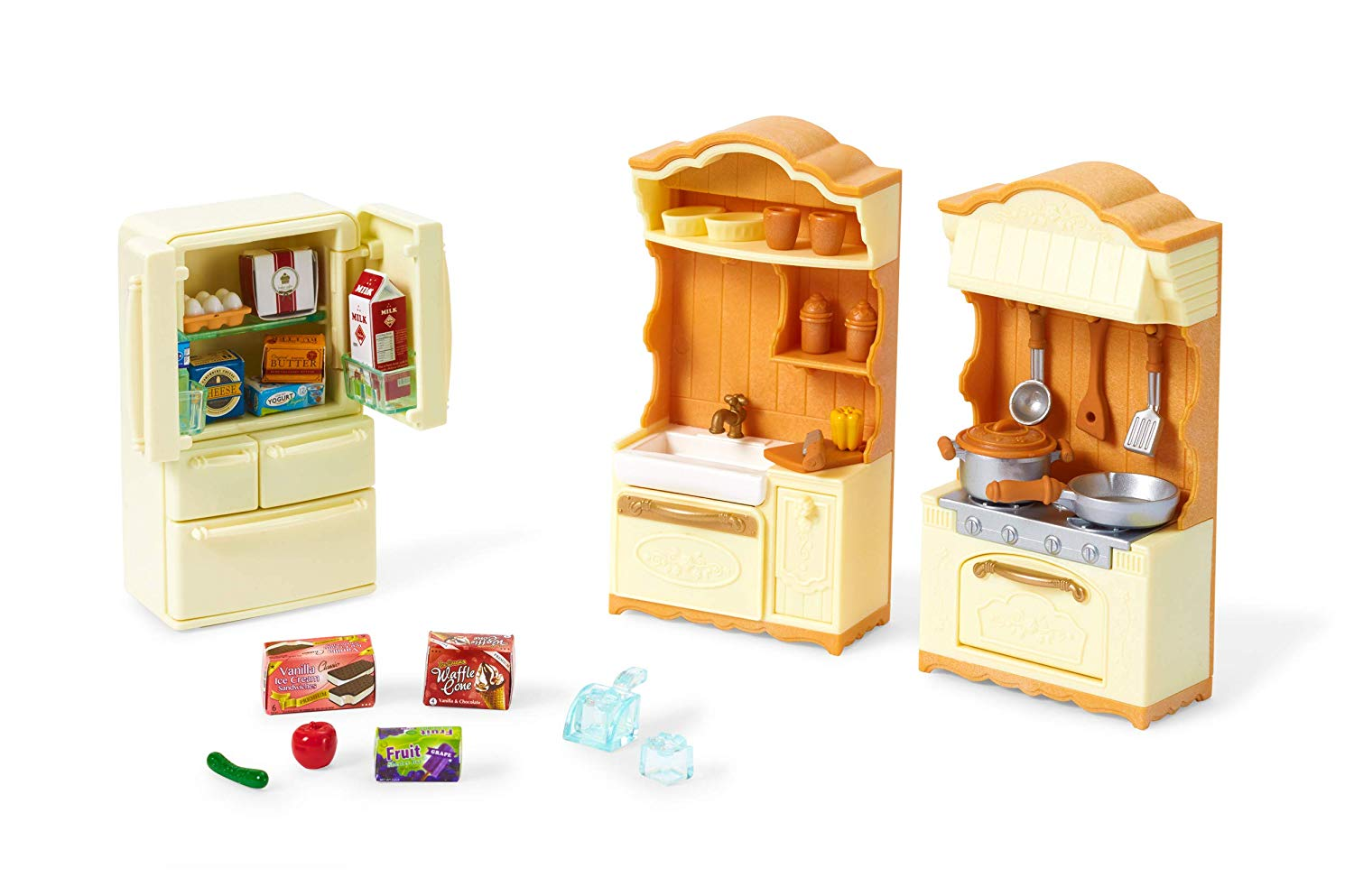 Calico Critters Kitchen Play Set Only 4 97 Was 19 95