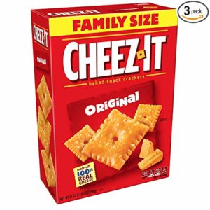 Cheez-It Baked Snack Cheese Crackers, Family Size (Pack of 3) as low as $6.00 Shipped!