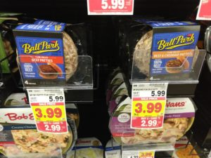 Kroger: Ball Park Beef Patties Only $1.99! (reg. $5.99)