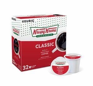 Krispy Kreme Classic Roast Coffee K-Cup Pods, 32 Count as low as $11.46! ($0.36/cup)