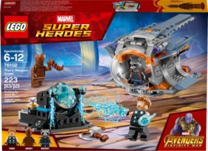 LEGO Marvel Super Heroes Avengers Infinity War – Thor's Weapon Quest Only $14.99!