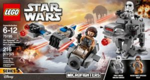 LEGO Star Wars Ski Speeder vs. First Order Walker Microfighters – $13.99! (reg. $19.99)