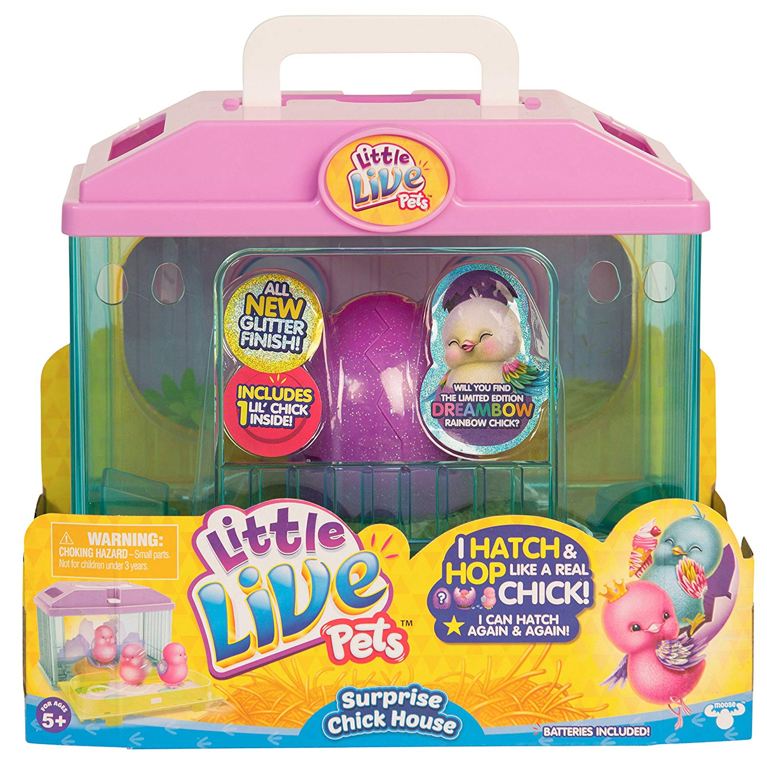 Little Live Pets Surprise Chick Season 3 House Only $8.81!