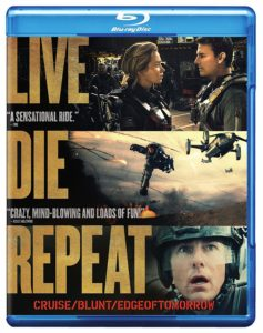 Live Die Repeat: Edge of Tomorrow Blu-Ray Only $5.99!