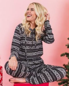 Merry Holiday Hooded Jumpsuit Only $19.77 Shipped! (was $39.95)