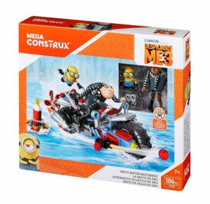 Mega Construx Despicable Me 3 Gru's Water Motorcycle Building Set Only $4.67!