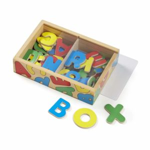 Melissa & Doug 52 Wooden Alphabet Magnets in a Box Only $6.89!