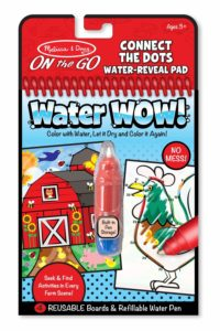 Melissa & Doug On the Go Water Wow! Reusable Water-Reveal Activity Pads Only $2.84!