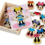 Minnie Mouse Mix and Match Dress-Up Wooden Play Set Only $4.79!