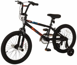 Mongoose Switch Boy's Freestyle BMX Bike with Training Wheels – $63.40 – Best Price!