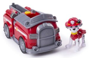 Paw Patrol Marshall's Transforming Fire Truck with Pop-out Water Cannons Only $9.38!