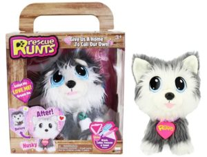 Rescue Runts Husky Plush Dog Only $14.96! Lowest Price!