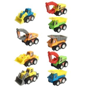 Set of 12 Fun Pull Back Construction Vehicles Only $7.99!